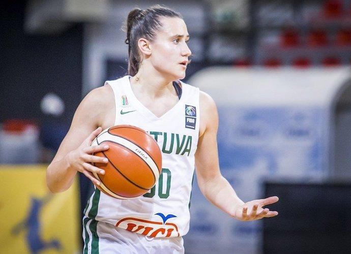 A.Zdanevičiūtė buvo nesulaikoma (FIBA Europe nuotr.)