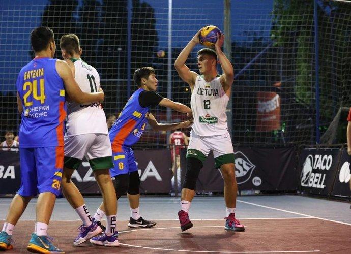Vaikinai pasiekė trečią vietą (FIBA nuotr.)