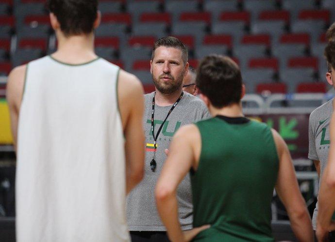 G.Petrauskas išskyrė varžovų lyderį (LTU.basketball nuotr.)
