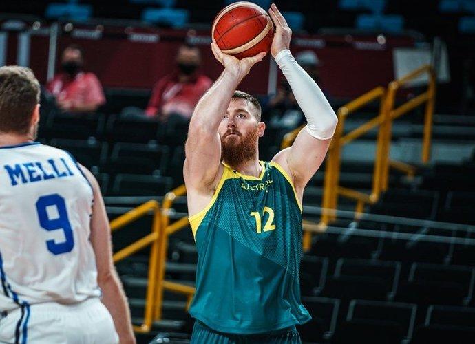 A.Baynesas patyrė rimtą kaklo traumą (FIBA nuotr.)
