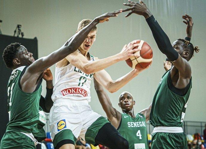 Lietuviai pasiekė pirmą pergalę (FIBA nuotr.)