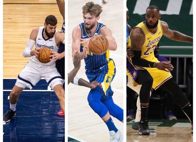"""Lietuvių ekipos nepretenduoja įkąsti """"Lakers"""" (Scanpix nuotr.)"""