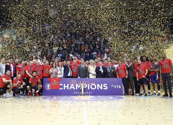 CSKA iškovojo titulą (Vieningosios lygos nuotr.)