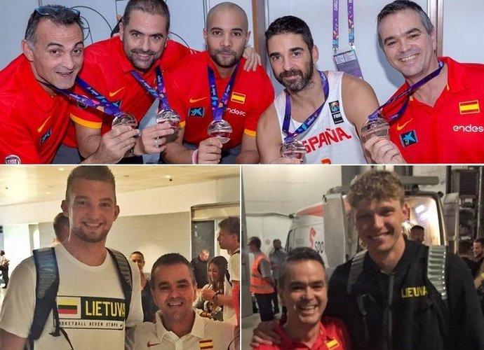 """A.Sanchezas-Canete dirba ne tik Malagoje, bet ir Ispanijos rinktinėje (""""Facebook"""" nuotr.)"""