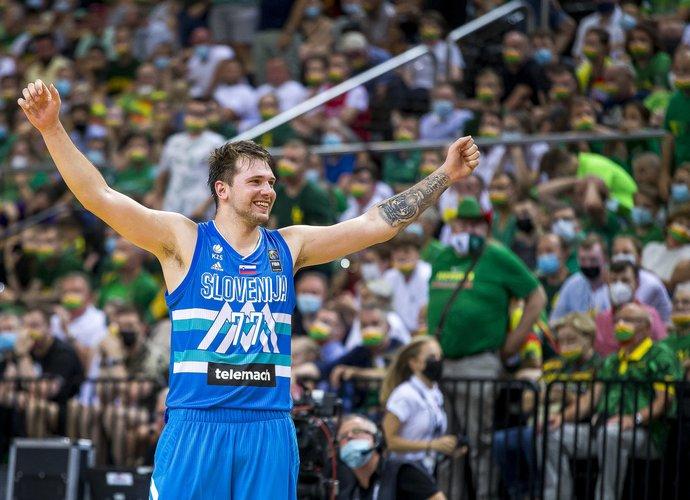L.Dončičiaus vedama Slovėnija olimpinėse žaidynėse dalyvaus pirmą kartą (BNS nuotr.)