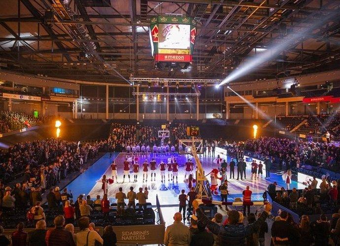 """Šį sezoną """"Cido"""" arenoje sirgalių buvo dvigubai mažiau nei pernai (FIBA Europe nuotr.)"""