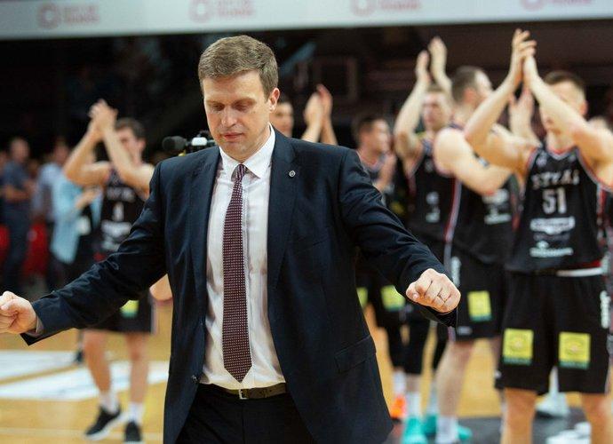 D.Adomaitis norėtų didesnės žaidėjų rotacijos ir daugiau atletiškumo (BNS nuotr.)