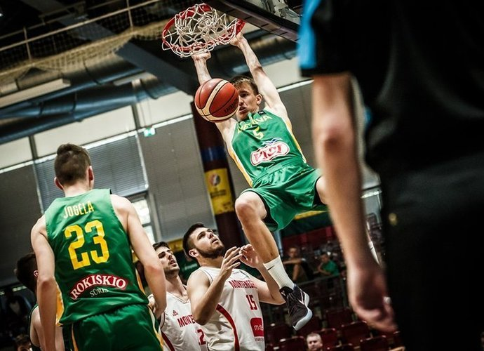 Lietuviai antrą kartą sudorojo juodkalniečius (FIBA Europe nuotr.)