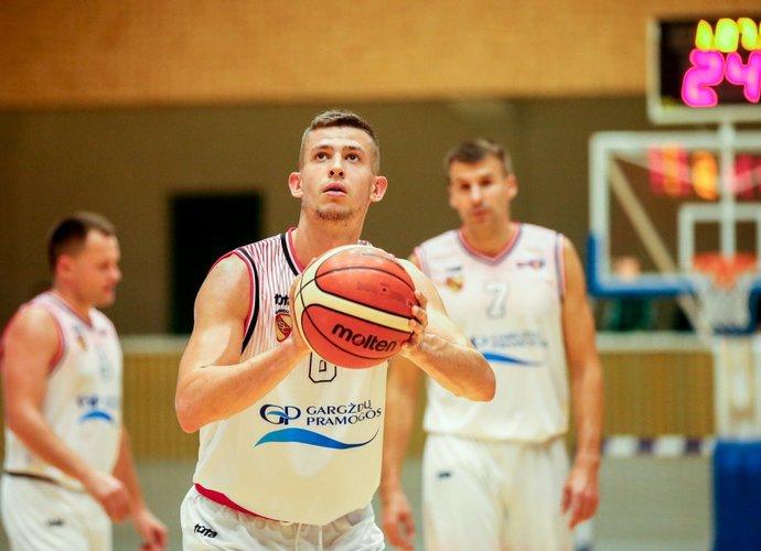 E.Jonkus toliau žais NKL klube (Foto: Matas Baranauskas)