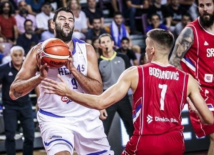 I.Bourousis paliko rinktinę (FIBA Europe nuotr.)