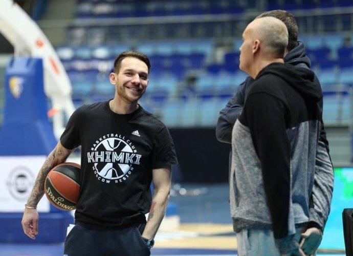 """Maskvoje dirba visas lietuviškas trenerių štabas (""""Chimki"""" nuotr.)"""