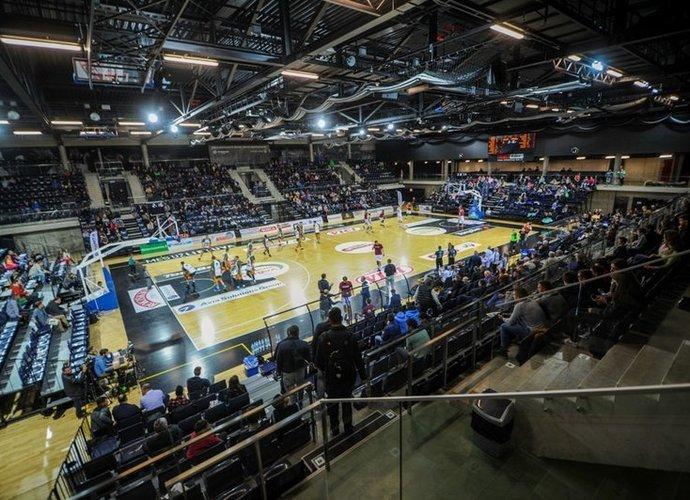"""""""Kėdainių arenoje"""" kitą sezoną LKL kovos nevyks (BNS nuotr.)"""
