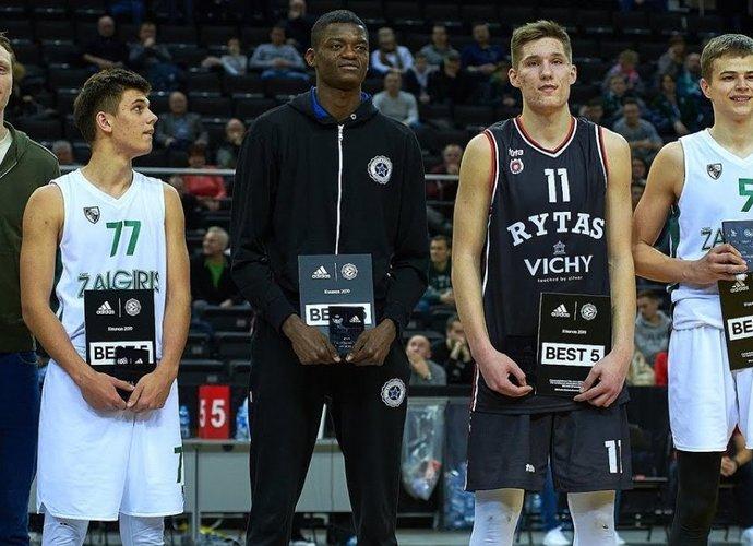 Y.Nzosa, spėjo sužaisti ir Kaune (nuotr. Euroleague.net)