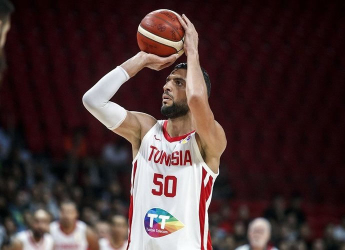 S.Mejri surengė įspūdingą pasirodymą (FIBA nuotr.)