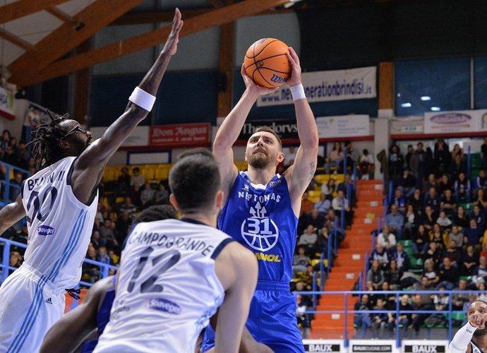 D.Gailius pergalės neatnešė (FIBA Europe nuotr.)