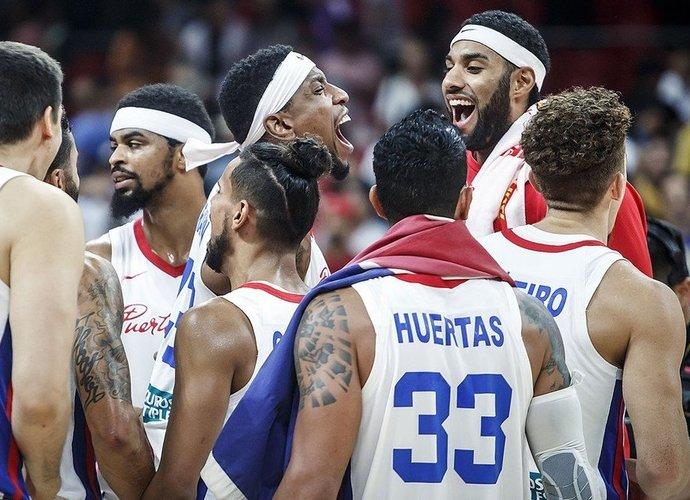 Puerto Rikas iškovojo antrą dramatišką pergalę (FIBA nuotr.)