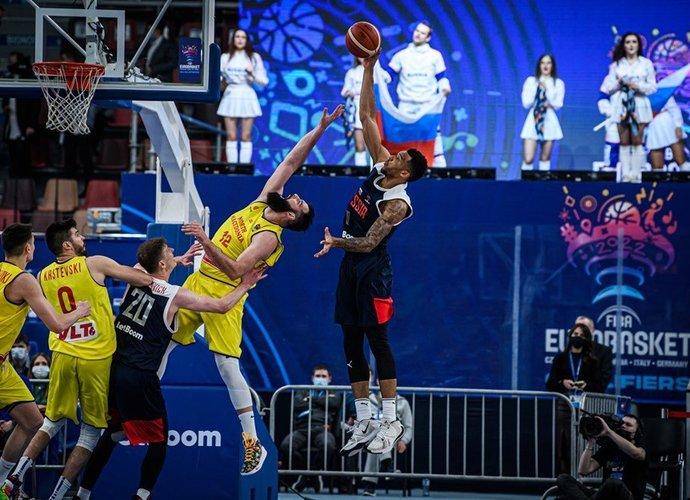 J.Bolomboy'us nepadės rinktinei (FIBA Europe nuotr.)