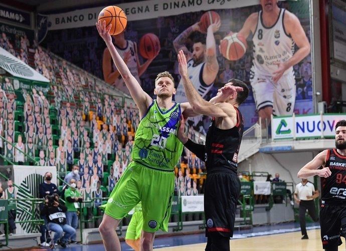 E.Bendžius lieka be pergalių (FIBA Europe nuotr.)