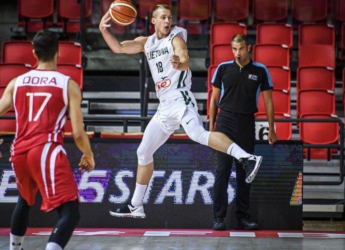 G.Vasiliauskas debiutuos kaip legionierius (FIBA Europe nuotr.)