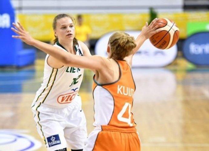 L.Juškaitės žaidimas nuo pralaimėjimo neišgelbėjo (FIBA Europe nuotr.)