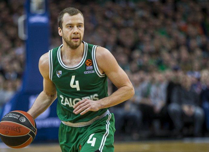 L.Lekavičius žaidžia geriausią karjeros sezoną Eurolygoje (BNS nuotr.)