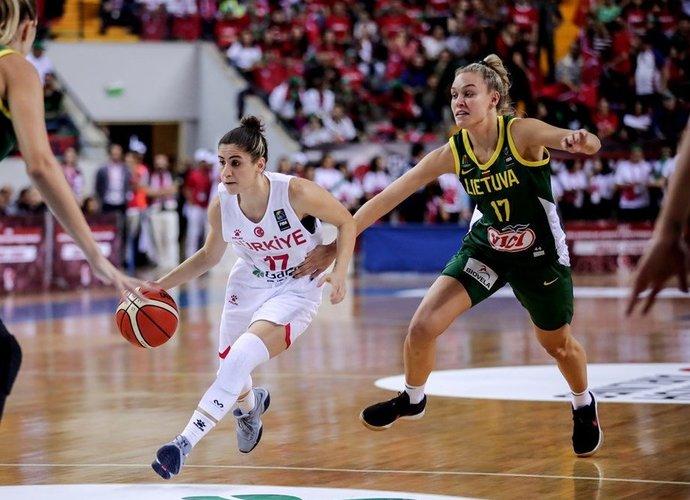 Lietuvių puolimas itin strigo (FIBA Europe nuotr.)