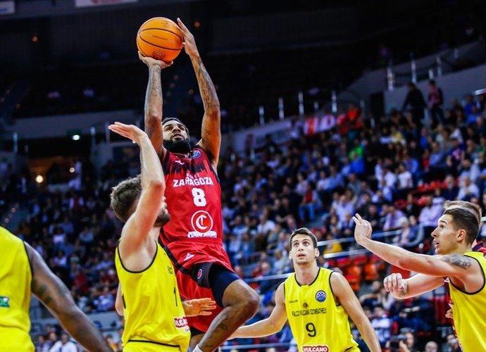 D.J.Seeley Saragosos klube rodo solidų žaidimą (FIBA nuotr.)