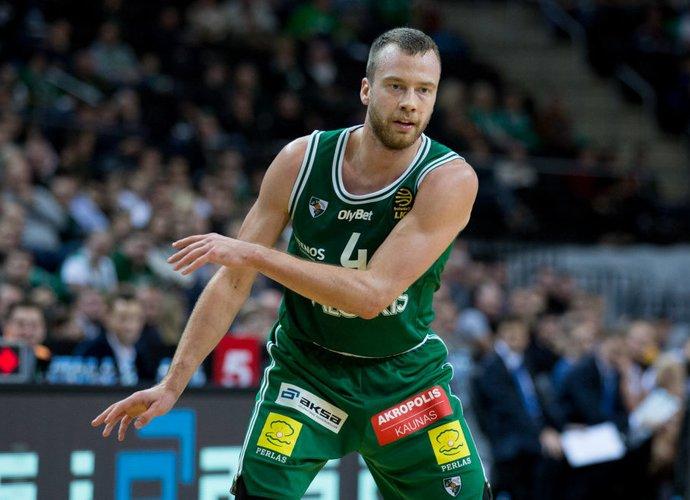 L.Lekavičius sužaidė geriausią sezono mačą Eurolygoje (BNS nuotr.)