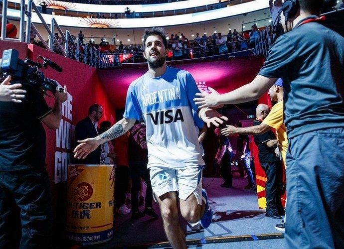 N.Laprovittola tikisi kartoti komandos sėkmę (FIBA nuotr.)