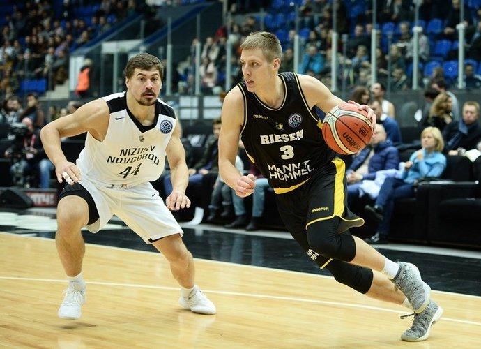D.Sabeckis negauna daug laiko pasireikšti (FIBA nuotr.)