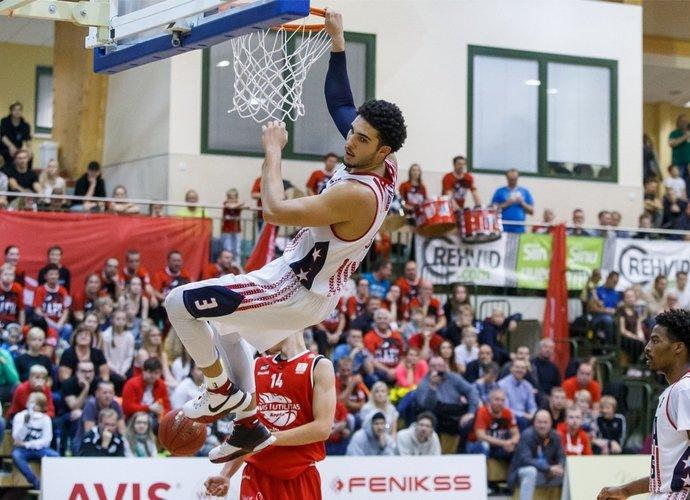 L.Ballas ir toliau puoselėja viltį žaisti NBA (Scanpix nuotr.)