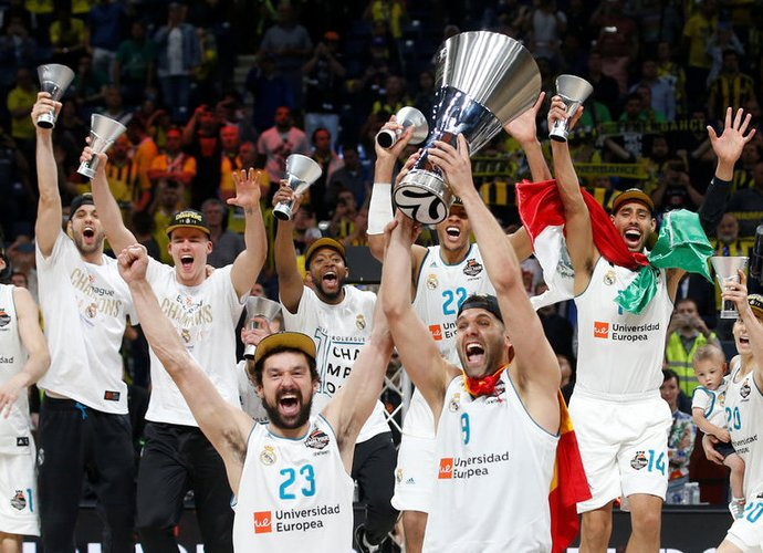 Madrido komanda laimėjo reguliarųjį sezoną (Scanpix nuotr.)