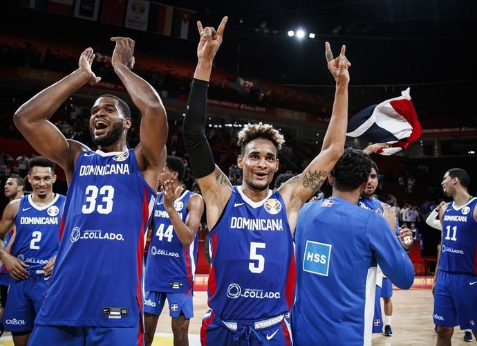 Dominikos krepšininkai pasiekė antrą pergalę (FIBA nuotr.)