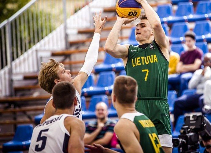 E.Butkus nelaimėjo nei ketvirtfinalio, nei metimų konkurso (FIBA nuotr.)