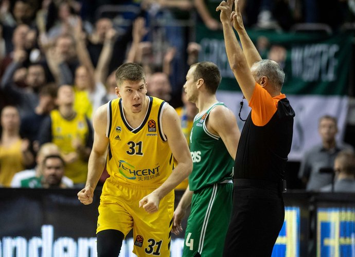 R.Giedraitis pelnė 10 taškų (Scanpix nuotr.)
