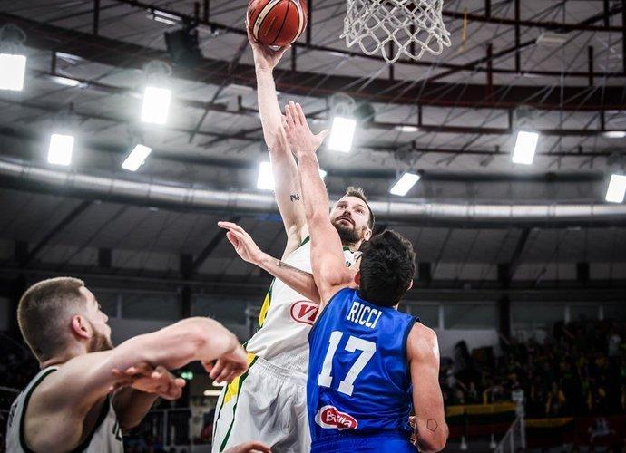 E.Želionis pasirodė puikiai (FIBA Europe nuotr.)