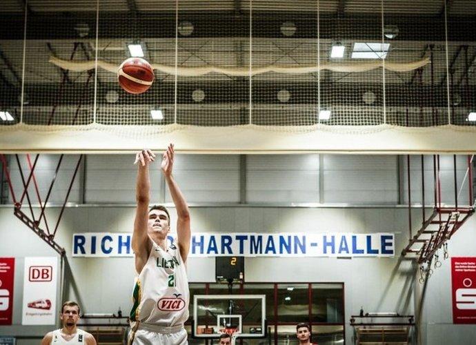 G.Masiulis buvo rinktinės vedlys (FIBA Europe nuotr.)