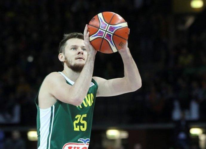 Š.Vasiliauskas demonstravo solidų žaidimą (Rokas Lukoševičius, Fotodiena.lt)