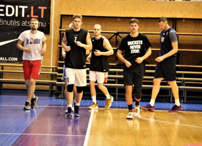 Joniškio komanda sudėtyje turi devynis žaidėjus