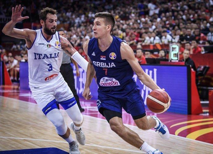 B.Bogdanovičius surengė puikų pasirodymą (FIBA nuotr.)