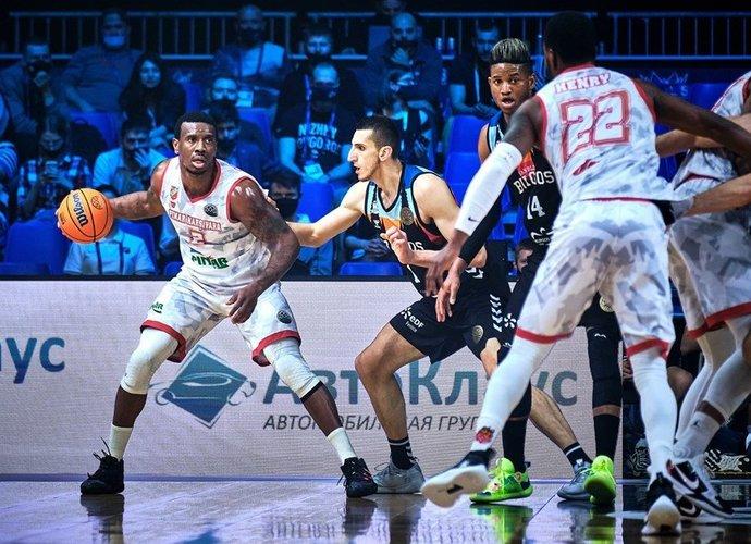 R.Morganas debiutuos Eurolygoje sulaukęs 33-ejų (FIBA nuotr.)