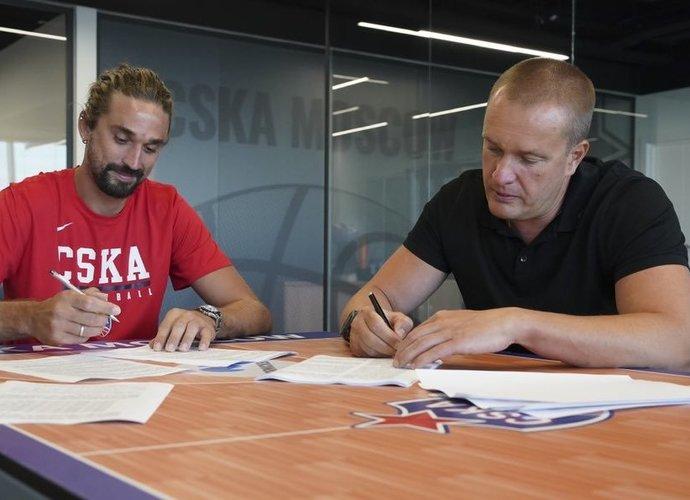 A.Švedas keliasi į CSKA