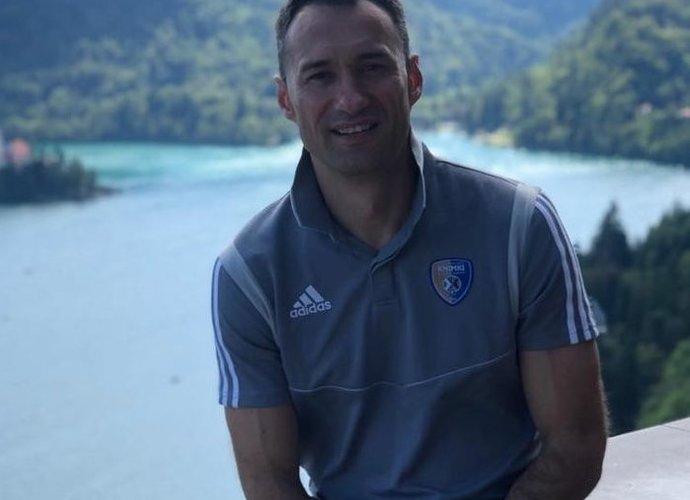 E.Kandratavičius komentavo sportą karantino metu (Asmeninė nuotr.)