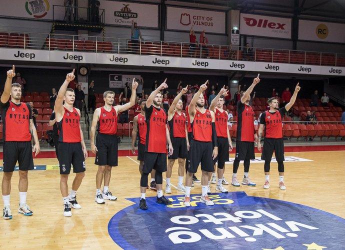 Vilniečiai pralaimėjo turnyro finalą (BNS nuotr.)