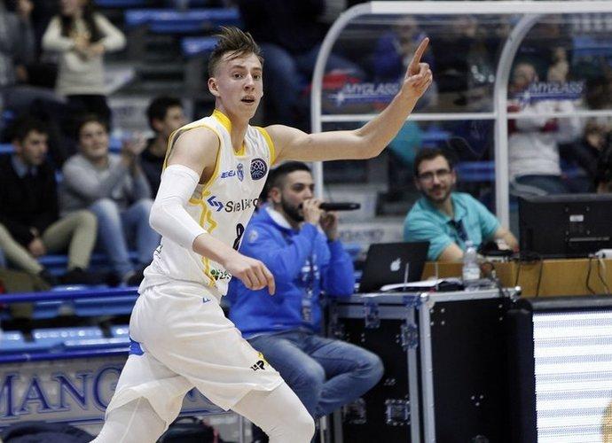 A.Kulboka pateko į simbolinį penketuką (FIBA Europe nuotr.)