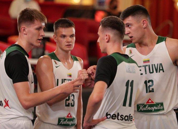 3x3 rinktinės startavo Tautų lygoje (FIBA nuotr.)