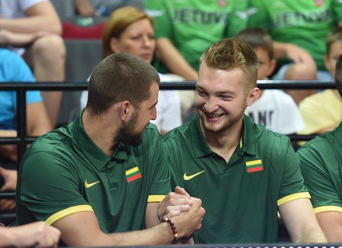 NBA lietuviai pasirodė solidžiai (BNS nuotr.)