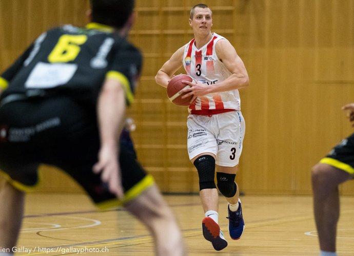 D.Sabeckis žaidžia solidų sezoną Šveicarijos lygoje