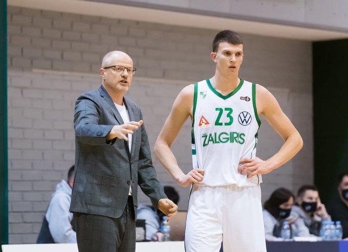 """""""Žalgirio"""" dublerių treneriai susirgo koronavirusu (Dainius Lukšta, NKL)"""