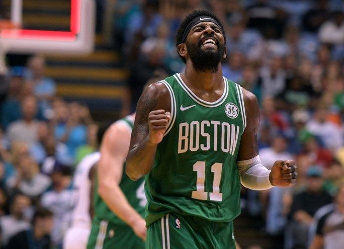 K.Irvingas yra patenkintas persikėlimu į Bostoną (Scanpix nuotr.)
